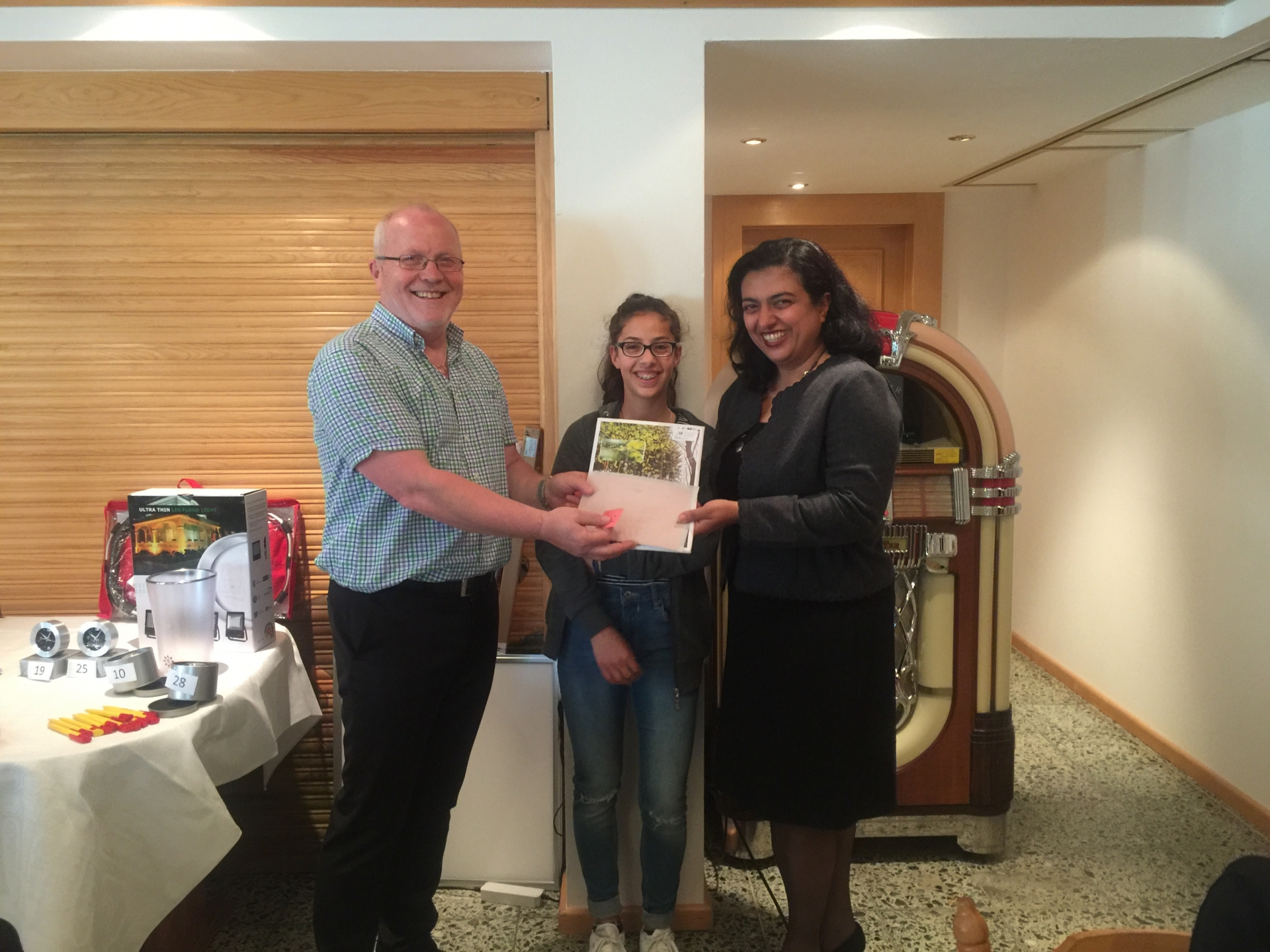 Jasmin Djamaseb, Speyer gewinnt ein Wellnesswochenende für 2 Personen bei der VdLA Verlosung